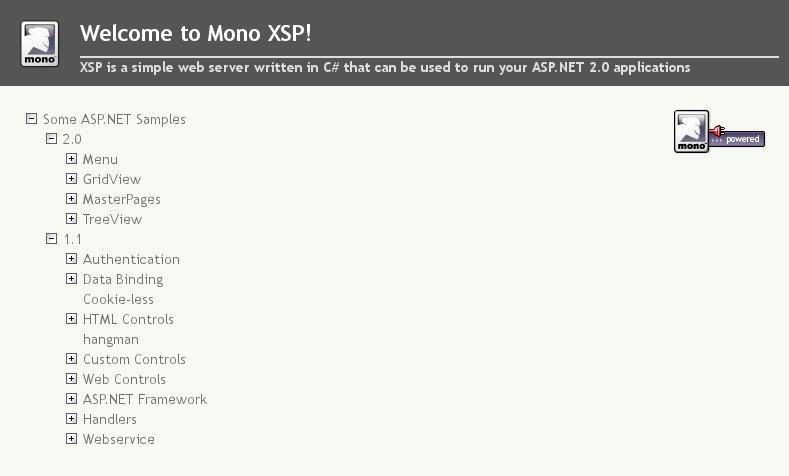 Welcome to Mono XSP!_20130405-081632